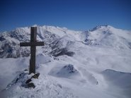 croce di vetta M.Gimont 2648mt
