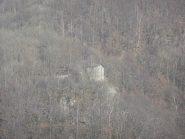 Zoom sul Castelletto dal sentiero per Apiatour, Marzo 2012