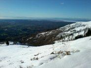 Panorama verso la pianura.