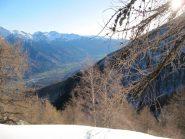 quardando verso la Bassa Val Susa