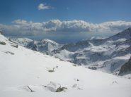 In discesa sopra l' Alpe di Vlou