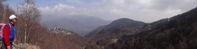 Quinseina - Calmia - Alpette dal pilone panoramico