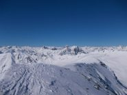 dalla cima verso Rocca La Meja