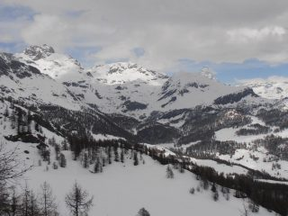02 - vista verso l'alta Valtounenche dall'arrivo della seggiovia Collet