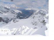 L'alta Val Maira dalla vetta del M.Viraysse..il tempo sta ormai cambiando
