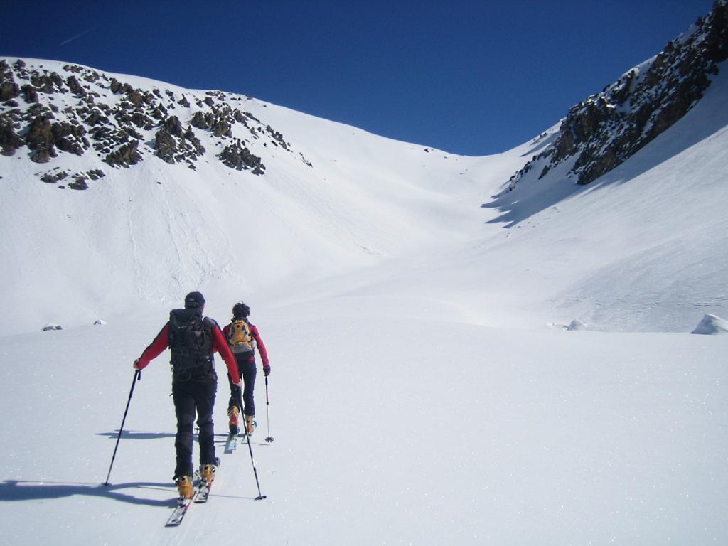 verso il colle Praufauchier 2745 m.
