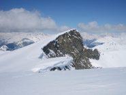 la cima Sud Ovest 2881 m.