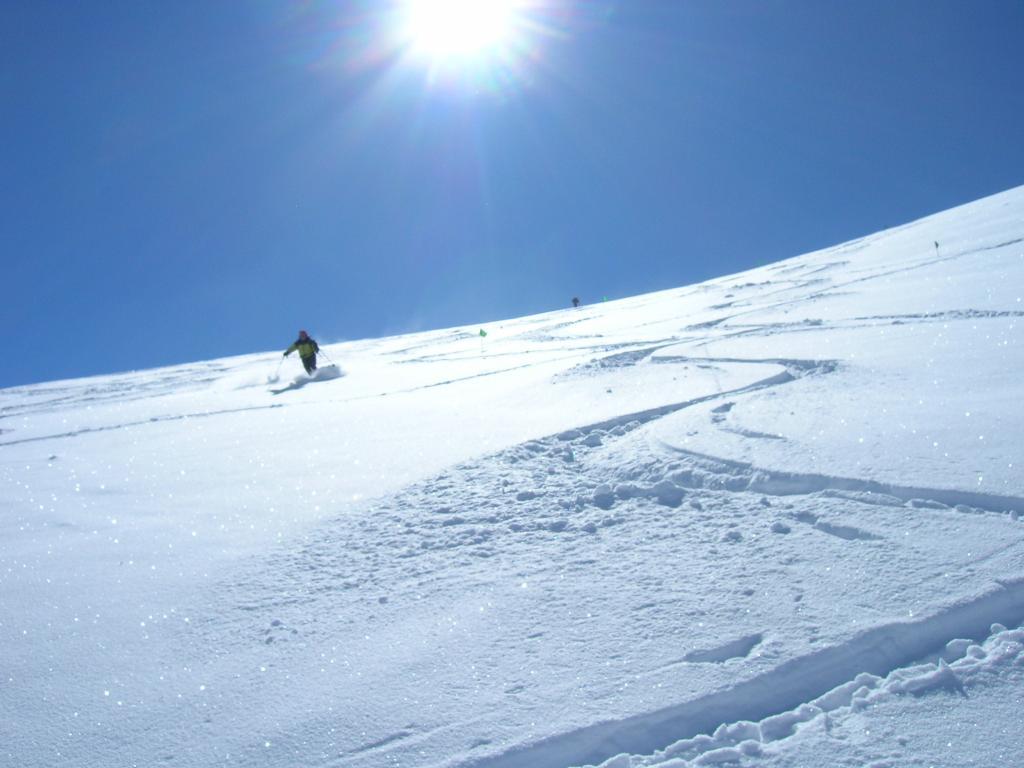 Sul ghiacciaio,da pannolone