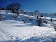 I dolci pendii sopra le Puy Jaumar