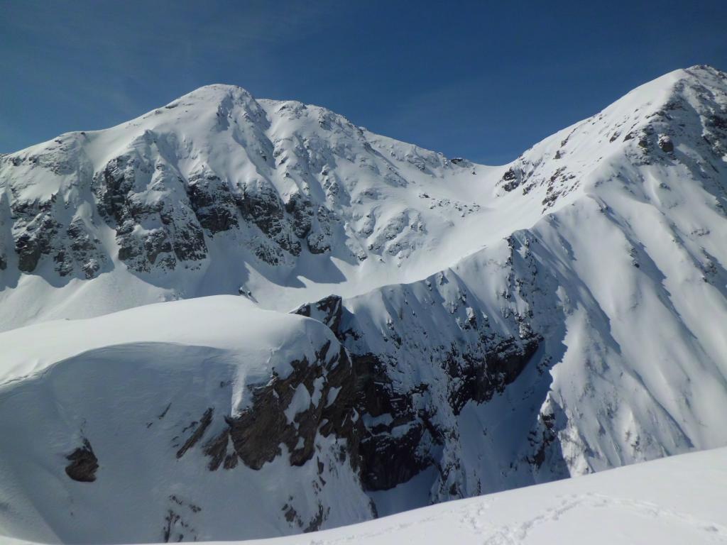 Cresta verso P. Lunella e Rocca Maritano