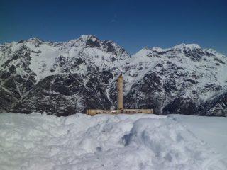 Croce di vetta e Torre d'Ovarda