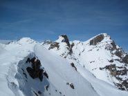 Monte Ruissas N con Chersogno sullo sfondo