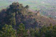 Vista della Croce dei Castelli scendendo