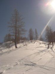 curve decenti solo sulla neve vecchia