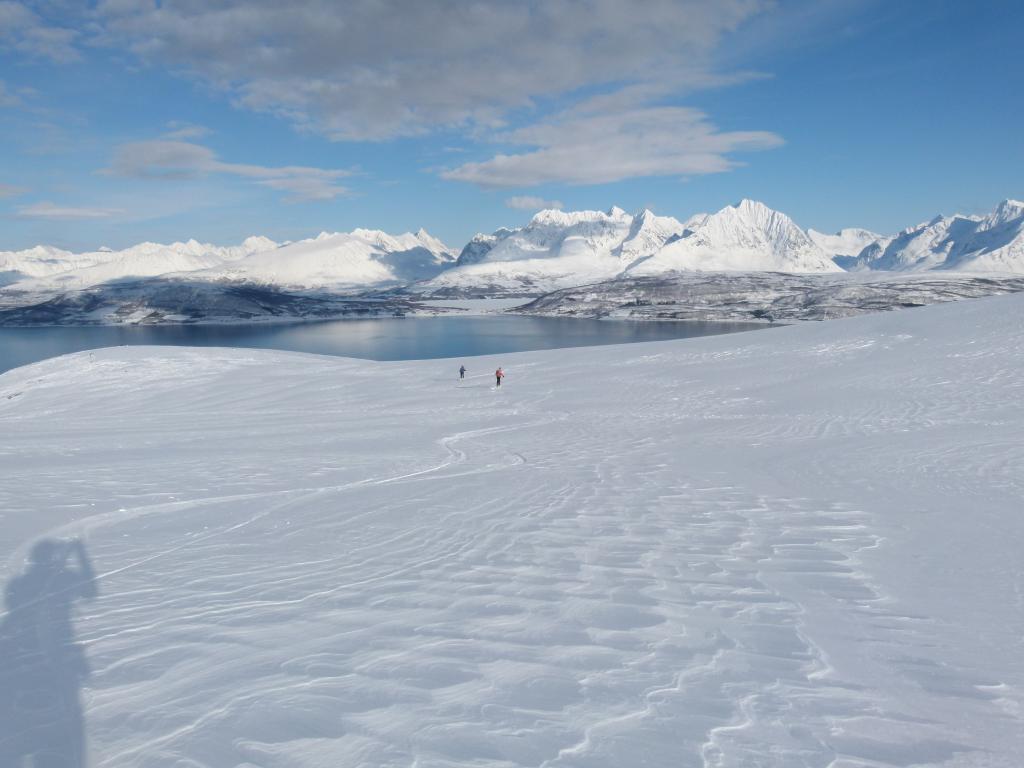 Mara e Paolo sopra l'Ullsfjorden