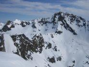 dalla cima: la  Rocca dell'Abisso