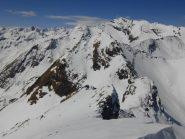 Il Monte Nero in primo piano
