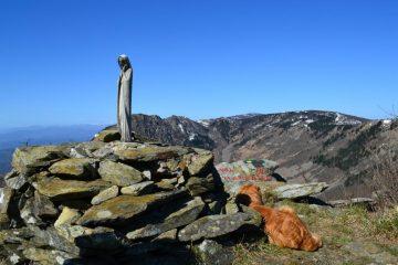vetta del Monte Argentea (1082 m)