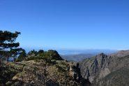 Verso Ponente e le Alpi Liguri