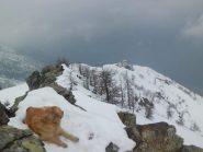 Dalla cima verso il Karfen