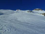La parte alta del percorso, sopra al Rifugio des Conscricts