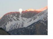 Sbuca la luna dal monte..il Siguret