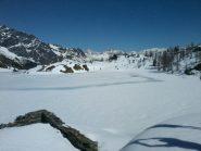 Lago Bianco ancora innevato