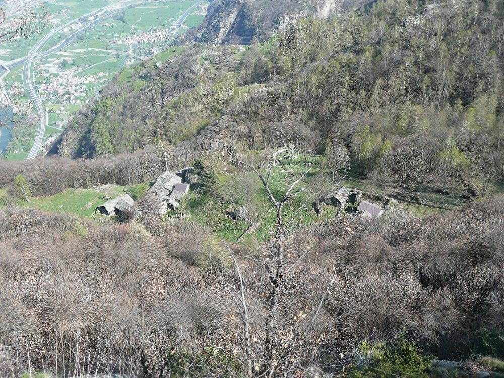 Cormoney (Alpe) da Outrefer, anello 2013-04-25
