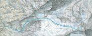 Itinerario di salita, con gli sci fino a 3300 m. circa.