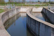 Le acque del Navilotto emergono dalla tomba-sifone sotto il Cavour