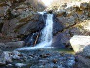 cascata sul rio Pissa