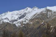 Panorama da Andorina verso la Rosa dei banchi