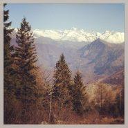 Visuale sulla Val di Viù da Colle Portia