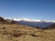 Visuale sulla Val di Viù da Colle Lunella