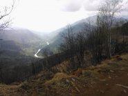 scorcio verso la Valle di Viù