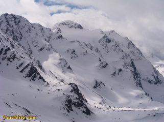 parte finale della salita al Chaputschin