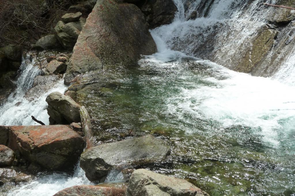 cascate sul rio Lazin
