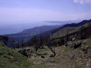 Panorama verso Bergeggi