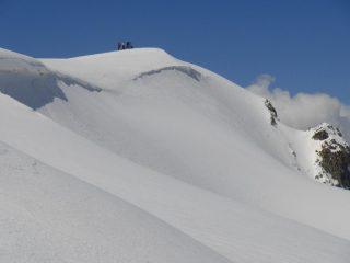 Vetta Sommeiller dalla cresta dell'Ambin