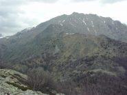 Dal Monte Sapei, sguardo all' indietro verso il Civrari