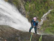 Lucilla sulla cascata