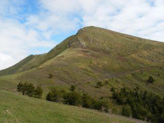 la cresta sud che scende dal Monega