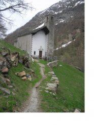 La bella chiesetta di S.Grato..