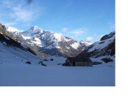 Il Corno Bianco dall'alpe Camino.