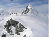 La Snella q.2716 a nord del Colle del Lago ripresa da i pressi della Bocchetta degli Autei..