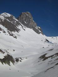 rocca del Nigro dal lago Bleu