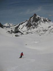 Ottima neve nel vallone dell'Oronaye