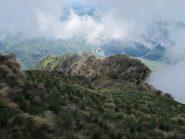 Dorsale discesa verso il Mont de Beuby