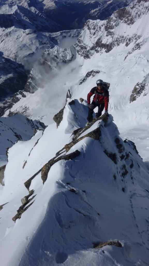 Greuvetta (Monte) - Cresta da Plampicieux 2013-05-11
