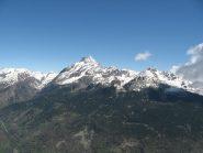 Vista sul Monviso dalla cima
